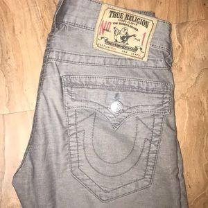 True Religion grey jeans